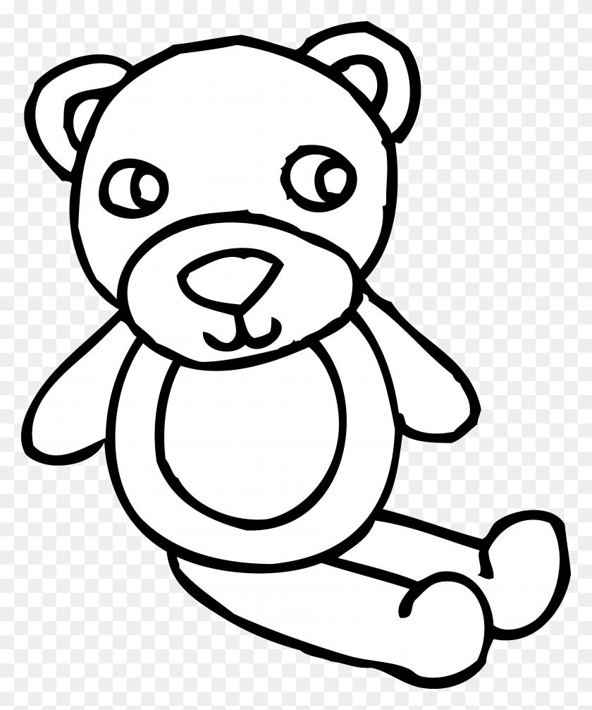 Black Bear Clip Art - Cute Teddy Bear Clipart