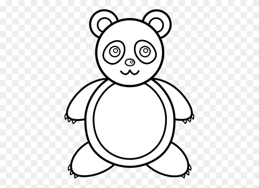 Black Bear Clip Art Free - Panda Bear Clipart