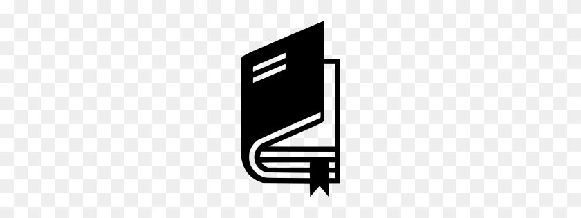 Black Book Icon - Book Icon PNG