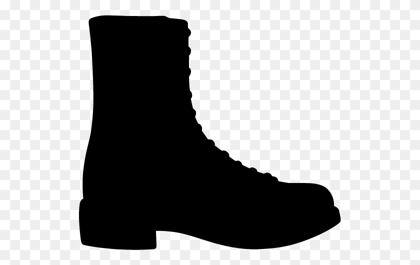 Black Boot Cliparts - Boot Clipart Black And White