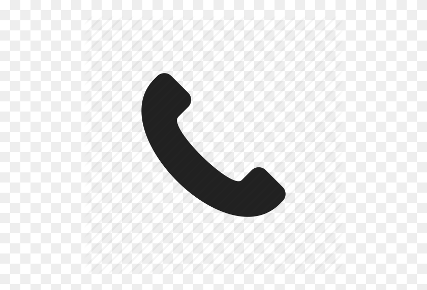 Black, Call, Call Ended, Call Up, Contact, Miss Call, Mobile - Phone Vector PNG
