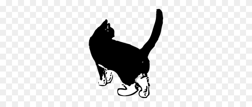 Black Cat Png, Clip Art For Web - Black And White Clipart Cat