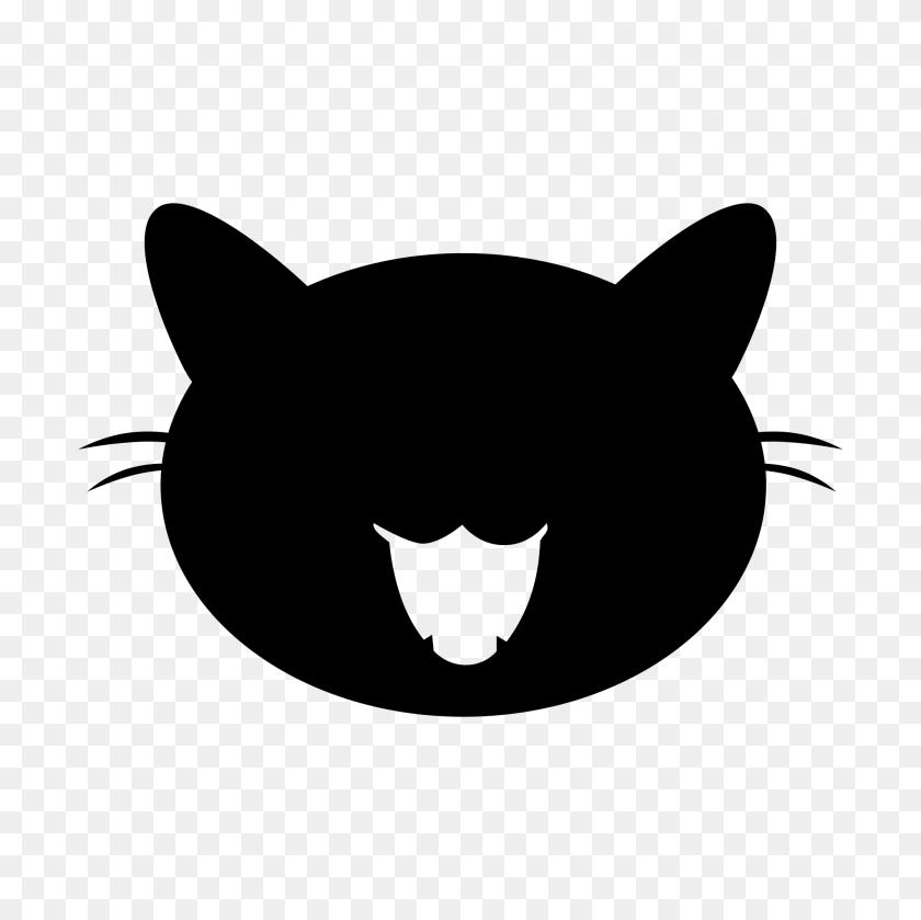 Black Cat Vector - Black Cat PNG