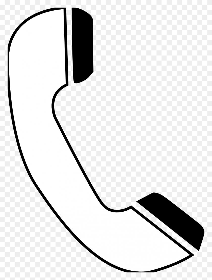Black Clipart Cellphone - Paintbrush Clipart Black And White