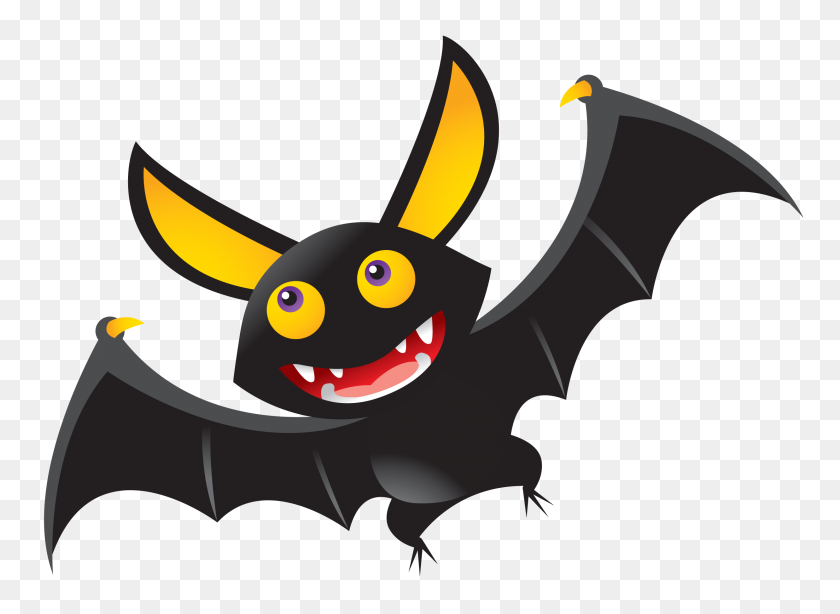 Black Flying Bats Halloween Clip Art, Free Halloween Graphic - Flying Bats Clipart