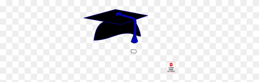 298x207 Black Graduation Cap Blue Tassel Clip Art - Free Clipart Graduation Cap And Diploma