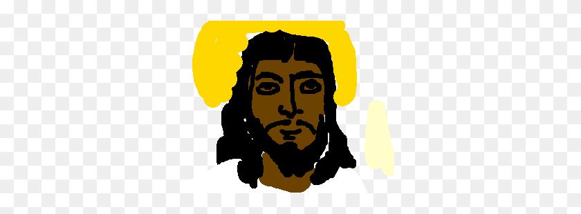 Black Jesus - Jesus Face PNG