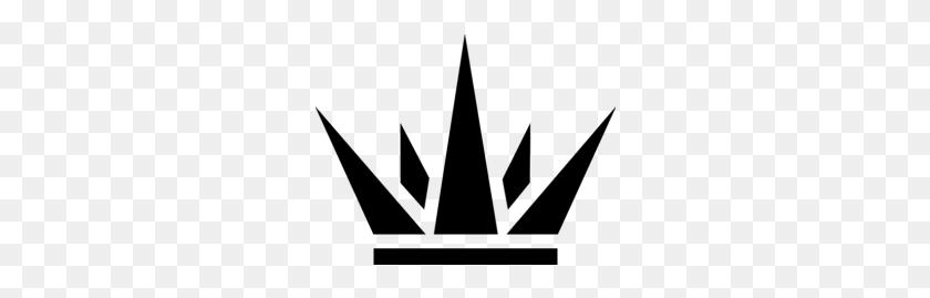 Black Kings Crown Png - Crown PNG Black And White