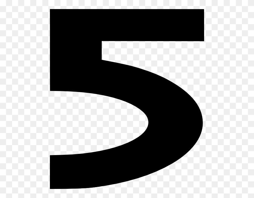 Black Number Clipart - Number 1 Clipart