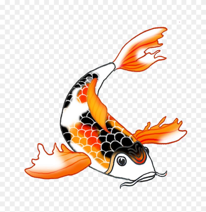 Black Orange Koi Fish Koi Fish Koi, Fish And Koi - Koi Fish PNG