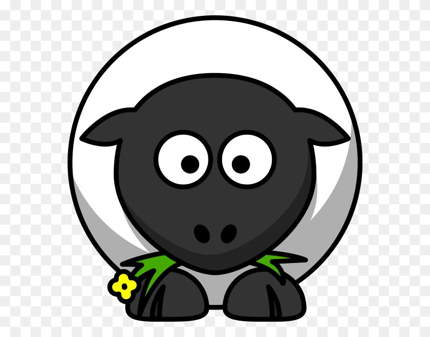 Black Sheep Clipart - Sheep Clipart