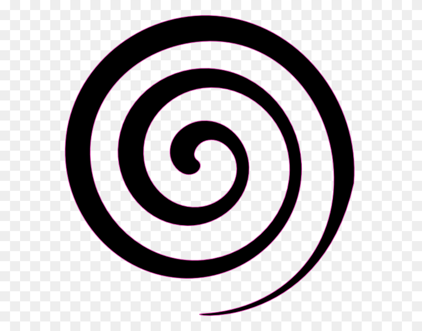 Black Spiral Lollipop Clip Art Vector Clip Art Image - Lollipop Clipart