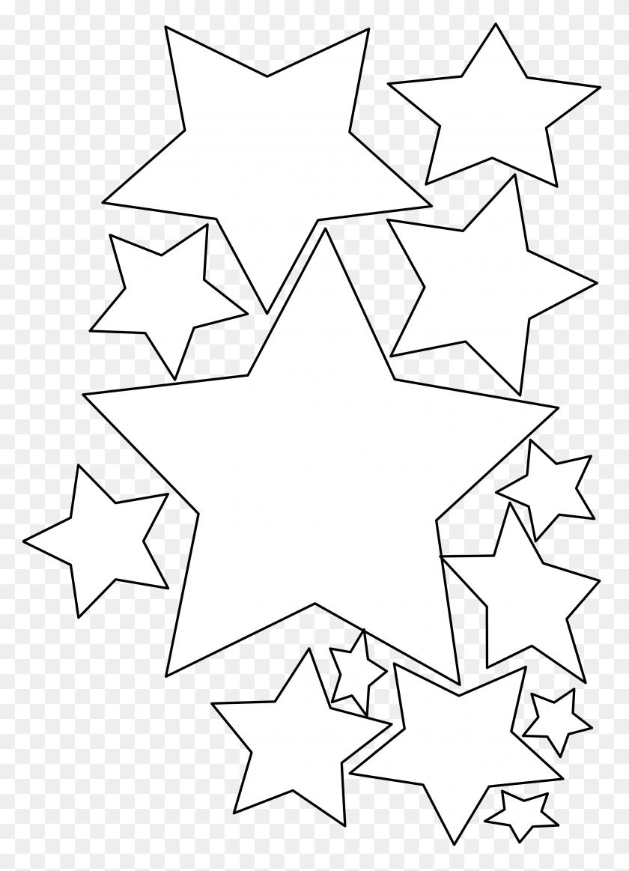 Black Star Cliparts - Black Stars PNG