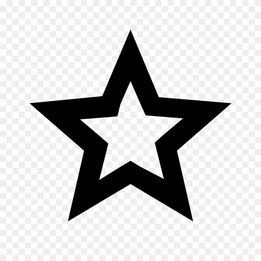 Black Star Png Image - Star PNG Image