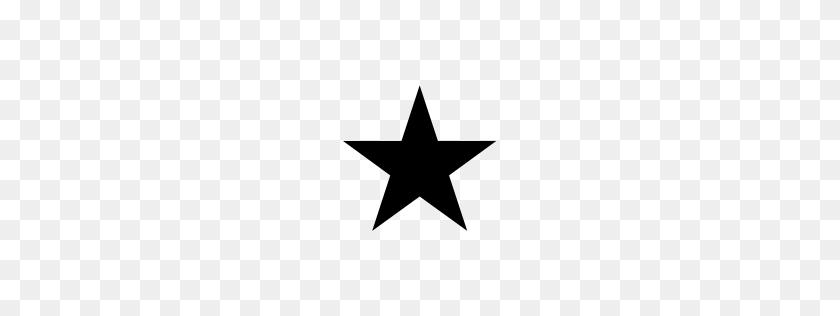 Black Star Smiley Face Unicode Character U - Black Stars PNG