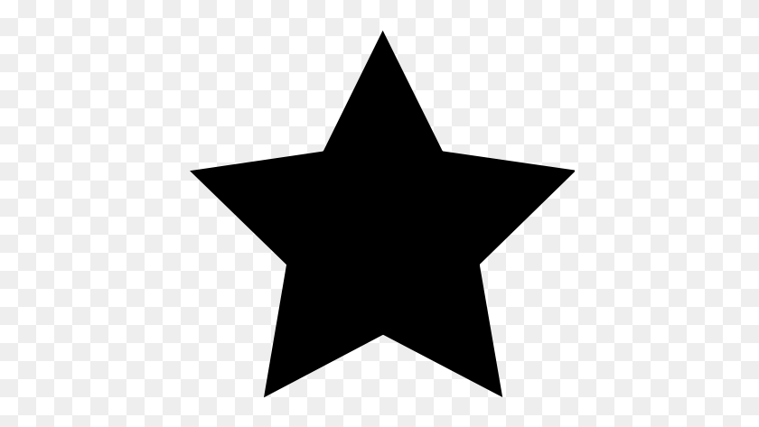 Black Star Stars Stars Black Star, Stars And Black - Star Clipart Black And White