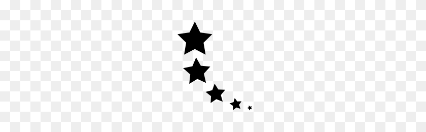 Black Stars Png Png Image - Black Stars PNG