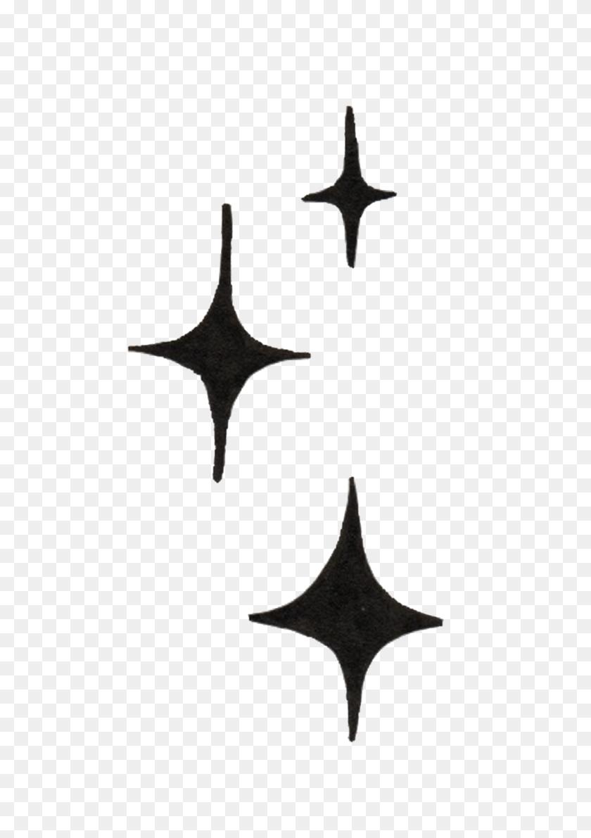 Black Stars Transparent Decorative Free Png Download Png Vector - Black Stars PNG
