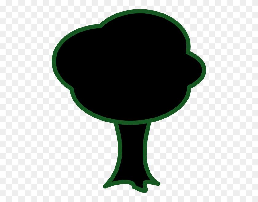 Black Tree Clip Art - Black Tree Clipart