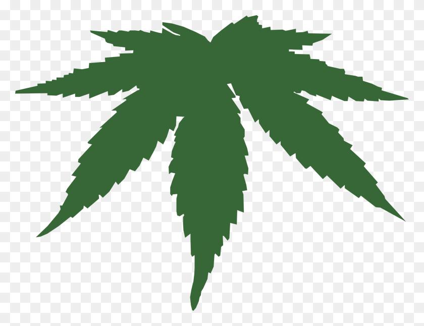 Black Weed Leaf Clip Art - Weed Leaf Clipart