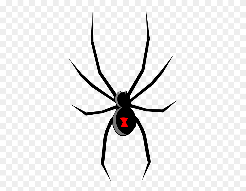 Black Widow Clip Art Free Vector - Mosquito Clipart Black And White