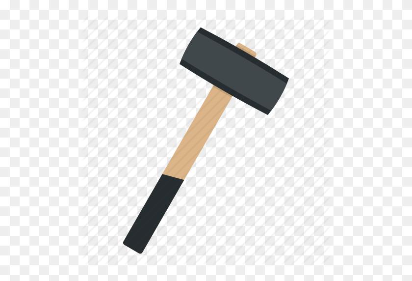 Blacksmith, Hammer, Metal, Sledgehammer, Steel, Tool, Work Icon - Sledgehammer PNG