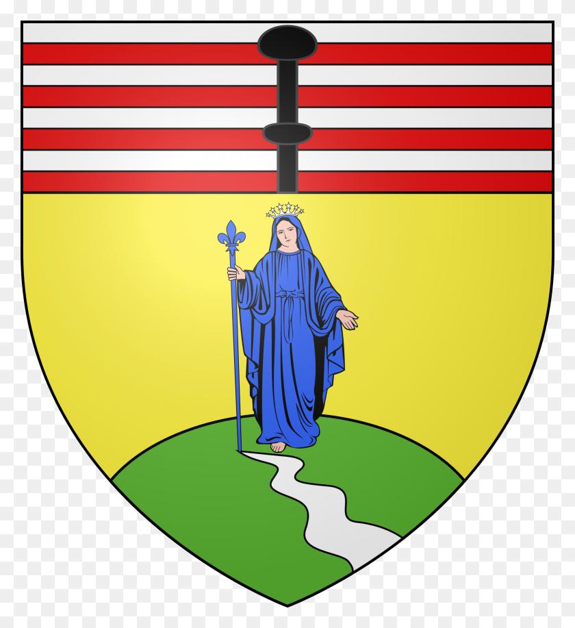 Blason De La Ville De Notre Dame - Notre Dame Clipart