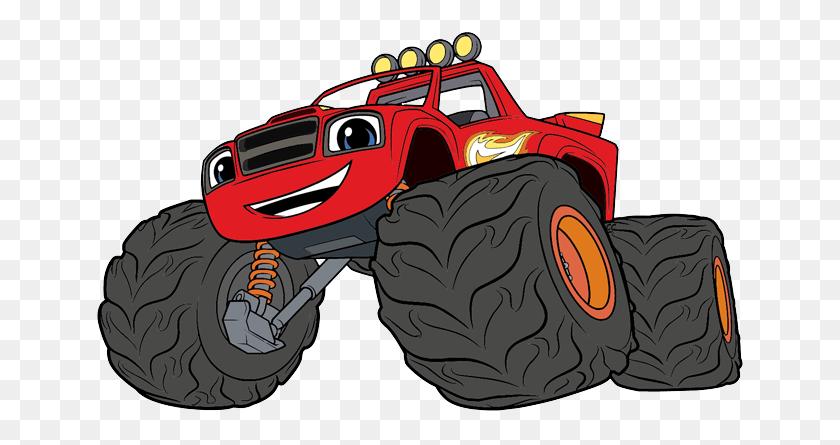 Blaze Monster Trucks Cartoons Blaze Clipart Stunning Free Transparent Png Clipart Images Free Download