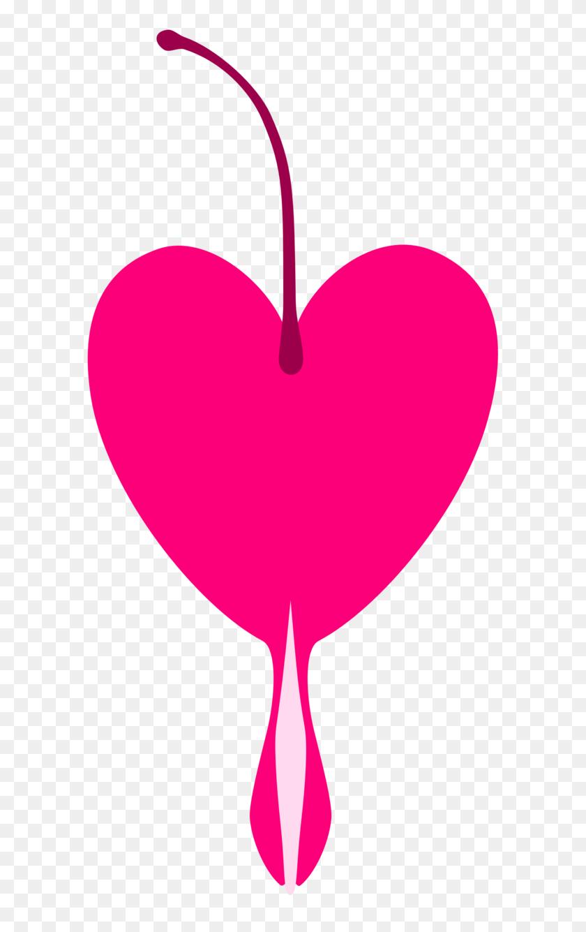627x1275 Bleeding Heart Cutie Mark Request - Bleeding Heart PNG