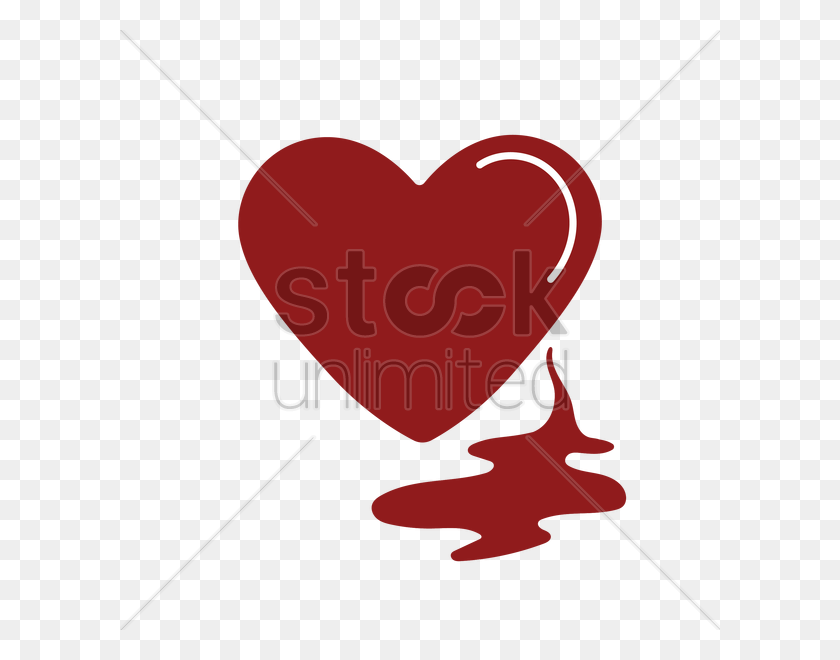 600x600 Bleeding Heart Vector Image - Bleeding Heart PNG