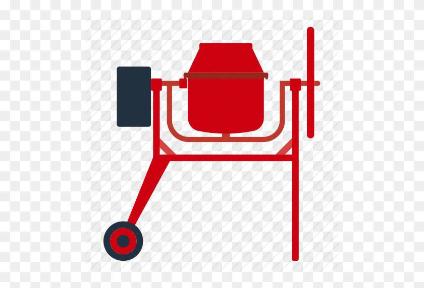Blend, Blender, Building, Cement, Cement Mixer, Cement Mixer - Mixer Clipart
