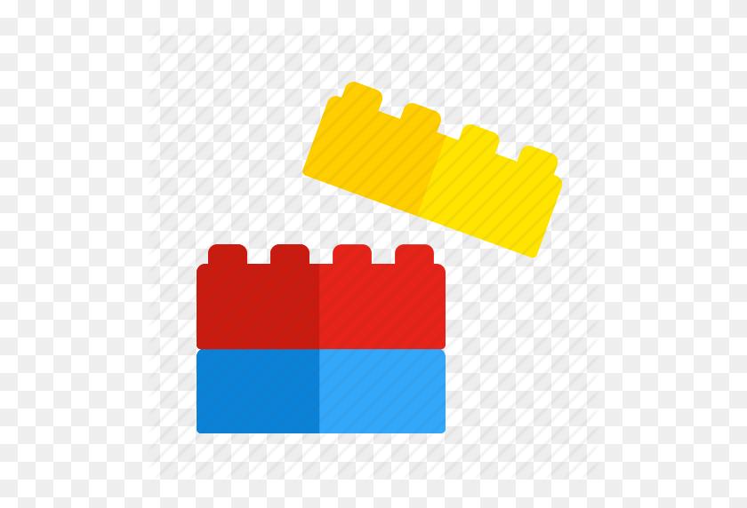 Blocks, Build, Game, Lego, Play, Toys Icon - Lego Blocks PNG