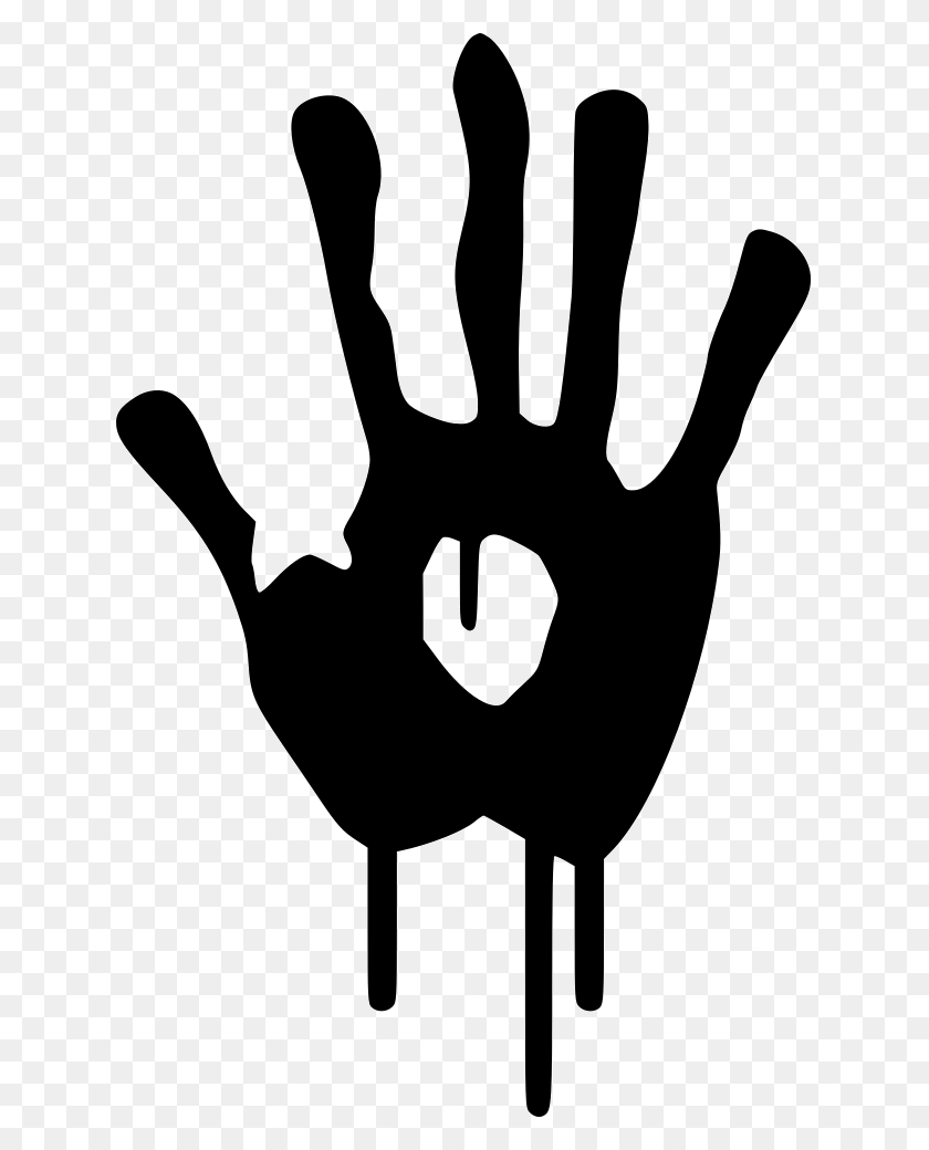 Blood Hand Png Icon Free Download - Blood Hand PNG