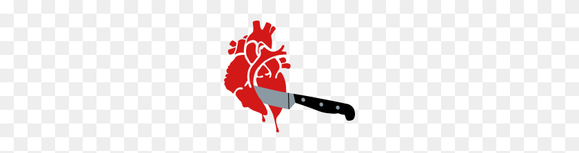 Bloody Heart, Stabbed Heart - Bloody Heart PNG