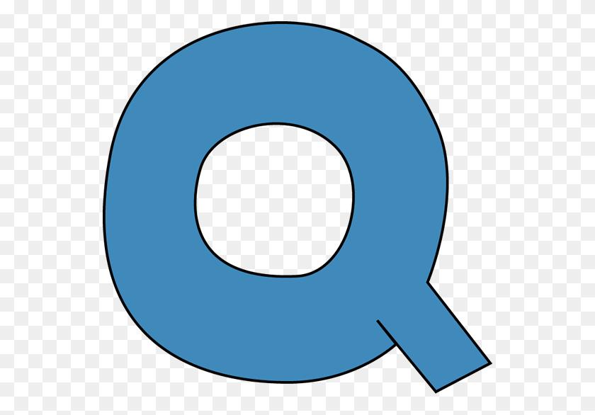 Blue Alphabet Letter Q Clip Art - Letter Clipart PNG