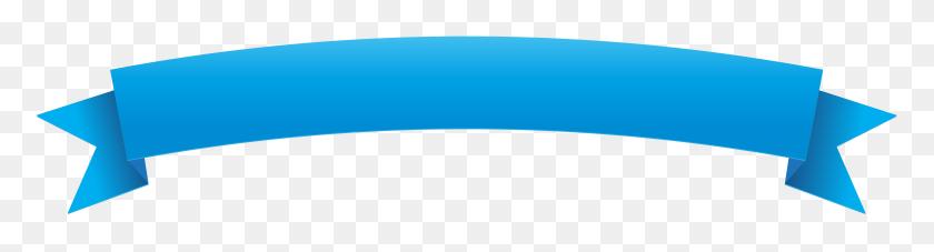 Blue Banner Png, Blue Ribbon Banner Clipart - Blue Banner PNG
