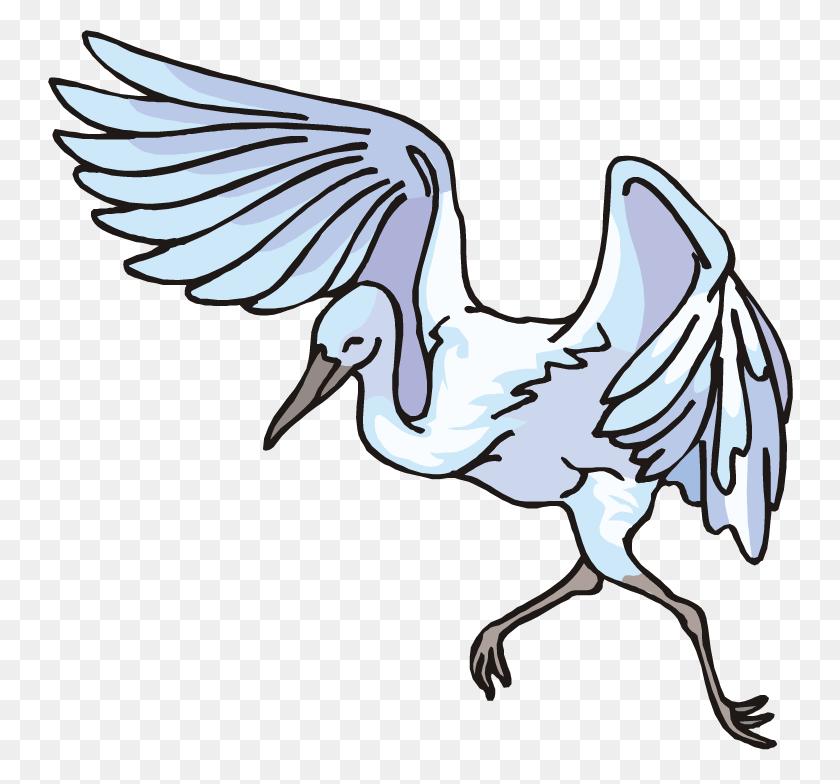 Blue Bird Clip Art Focusing On Wildlife - White Bird Clipart