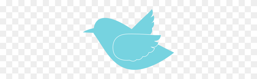 298x198 Blue Bird Silhouette Clip Art - Blue Bird Clipart