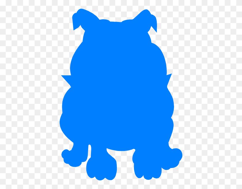 Blue Bulldog Png, Clip Art For Web - Bulldog Clipart