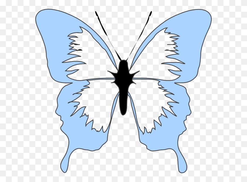 Blue Butterfly Clip Art - Blue Butterfly Clipart