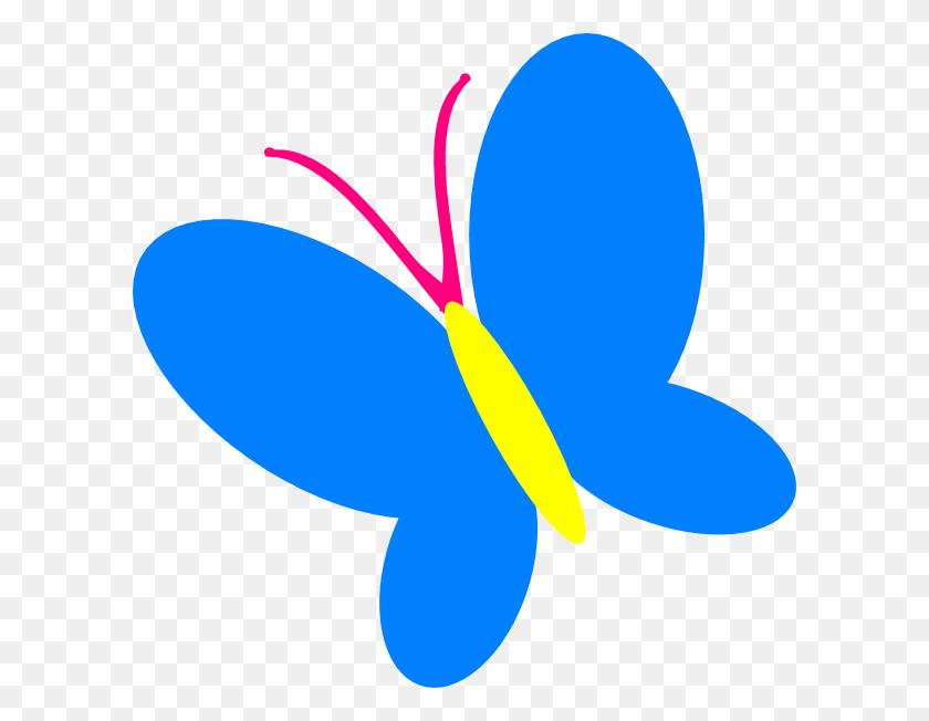 Blue Butterfly Clip Art - Monarch Butterfly Clipart