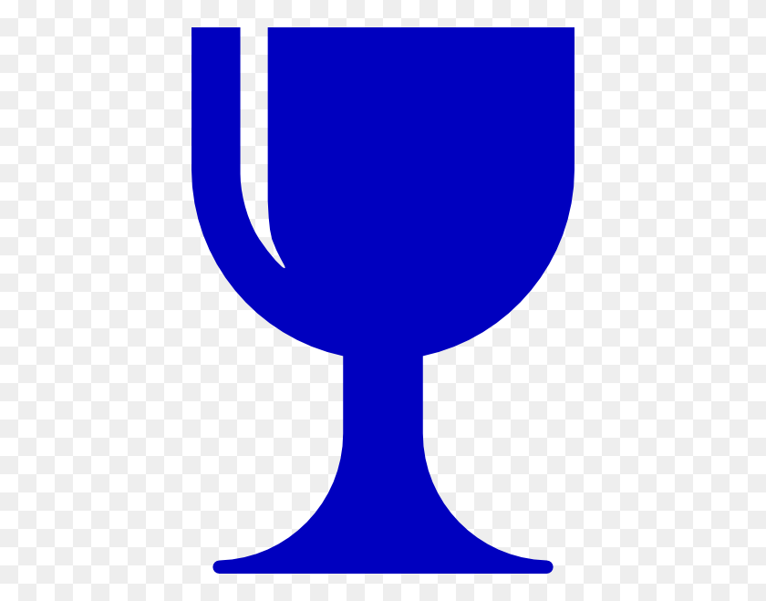 Blue Chalice Clip Art - Chalice And Host Clipart