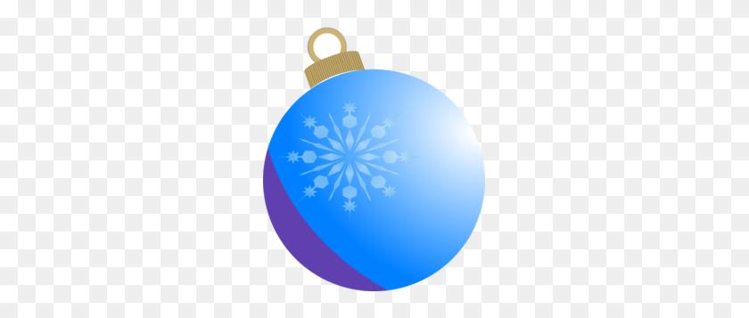 Blue Christmas Ball Ornament Clip Art - Ornament Clipart