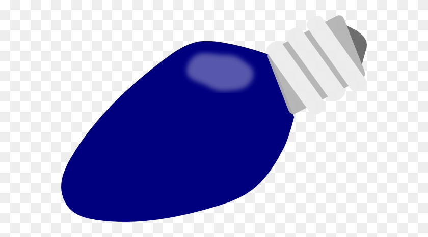 Blue Christmas Lightbulb Png, Clip Art For Web - Lightbulb Clipart PNG