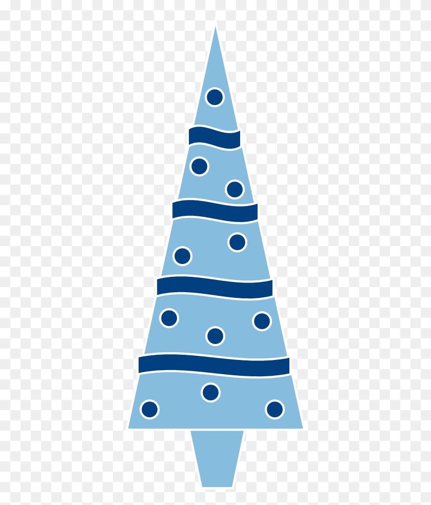 Blue Christmas Tree Clipart Clipartxtras - Christmas Tree Clipart Transparent