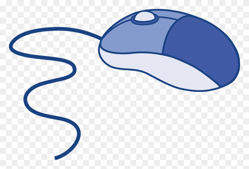 Blue Computer Mouse - Science And Technology Clipart