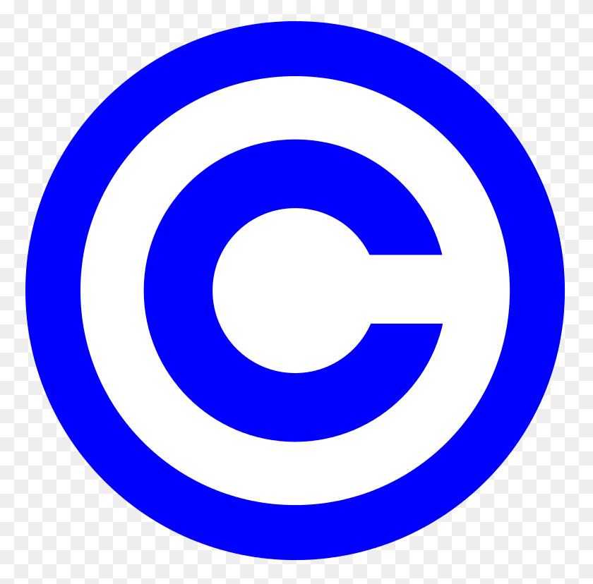 Blue Copyright - Copyright Logo PNG