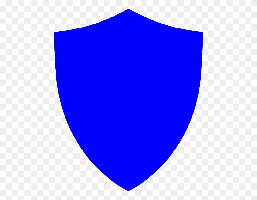 Blue Crest Shield Clip Arts Download - Police Shield Clipart