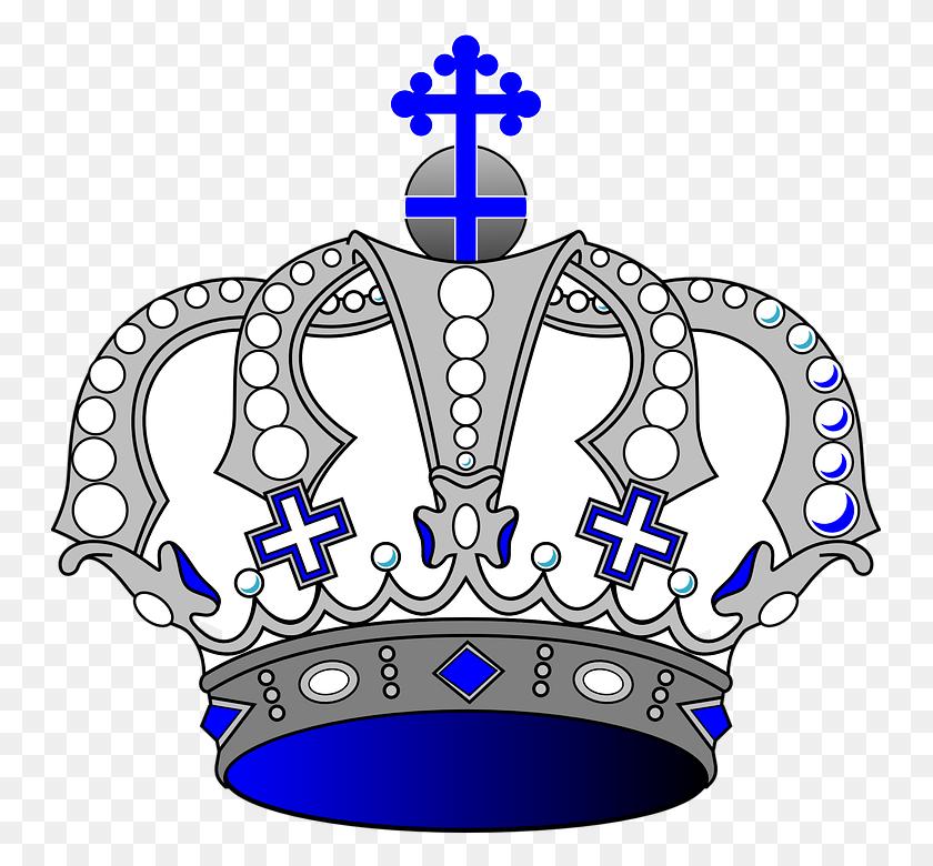 Blue Crown Clip Art - Prince Crown Clipart