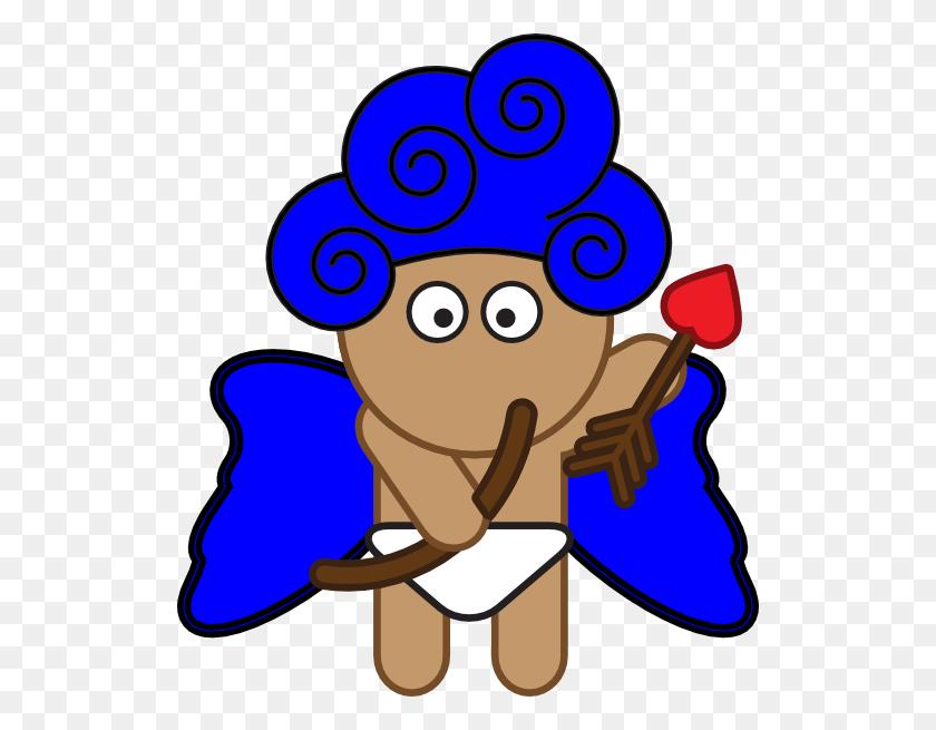 Blue Cupid Png, Clip Art For Web - Cupid Clipart